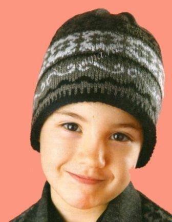 Как связать спицами шапку-ушанку для мальчика
