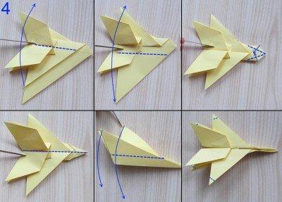 Как сделать самолёт f15 из бумаги