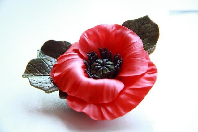 Цветы из холодного фарфора: лепка для начинающих с фото и видео