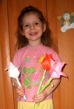 Тюльпан оригами из бумаги: схемы и видео подборка