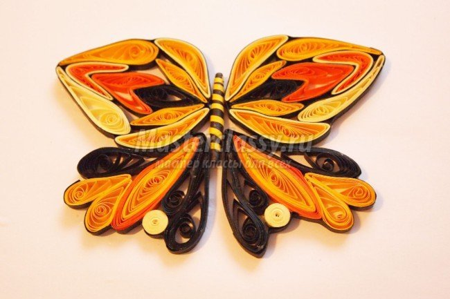 Квиллинг бабочки мастер класс с пошаговым