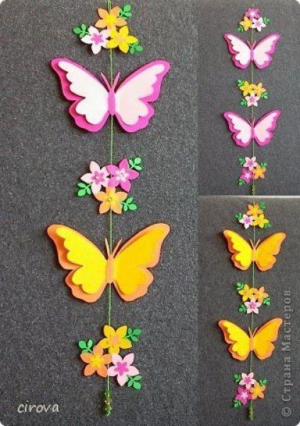 Детские поделки бабочки своими руками