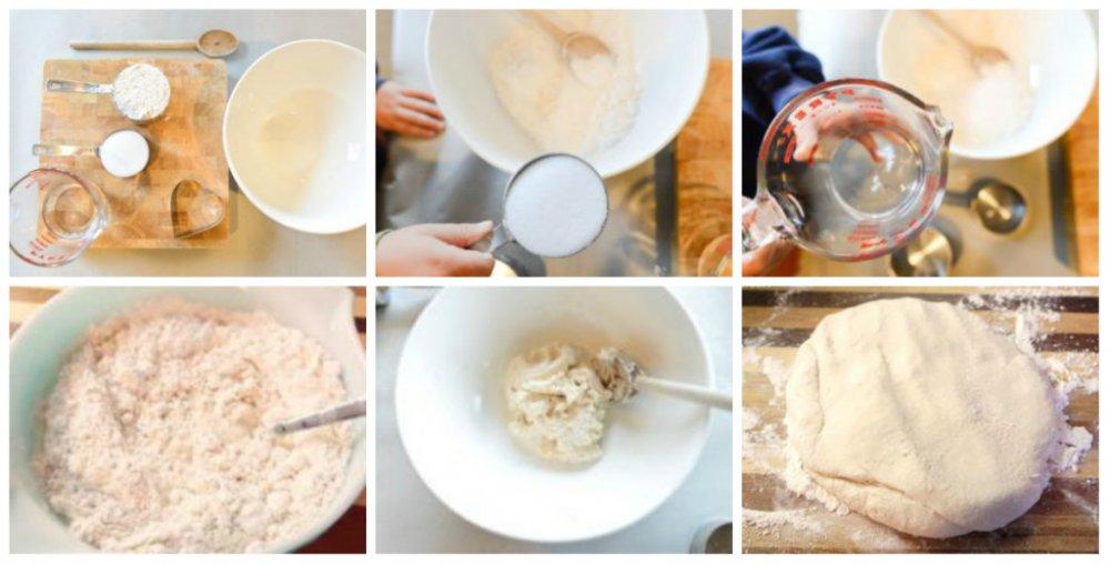 Соленое тесто для лепки: состав и инструкция по его изготовлению пошагово с фото и видео