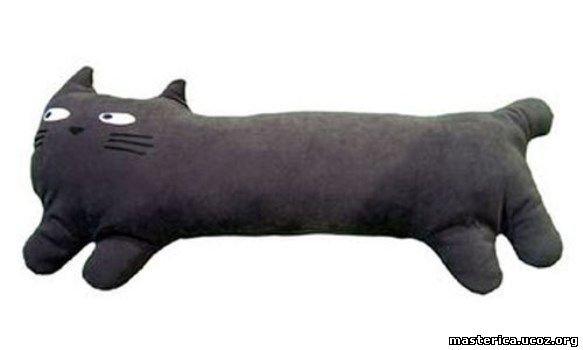 Мягкая игрушка своими руками коты обнимашки выкройка фото 151