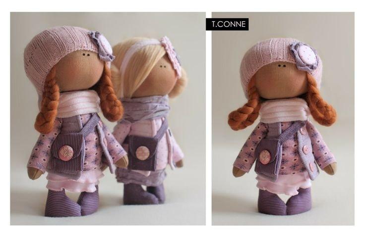 Выкройка куклы Коннэ: снежинка и текстильный вариант (с фото и видео)