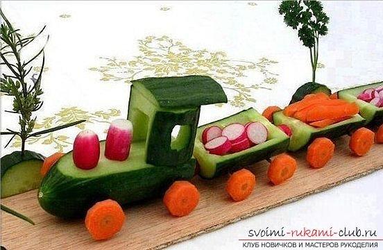Картинки подделки из осенних овощей