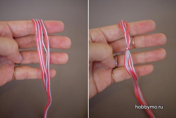 Как сделать браслет из ниток своими руками: браслеты желаний на красной нитке и схемы с видео-подборкой