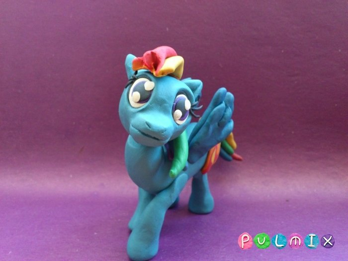 Как сделать пони из - Дружба это чудо - из пластилина: поделка из май литл пони поэтапно