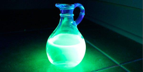 Как сделать светящаяся жидкость из перекиси
