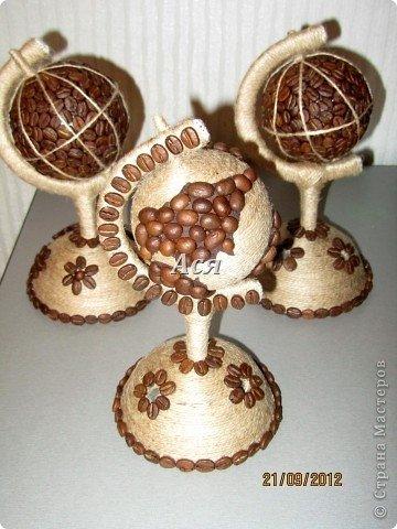 Поделки своими руками из кофейных зерен чашка