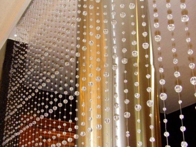 Как сделать стеклянные шторы своими руками