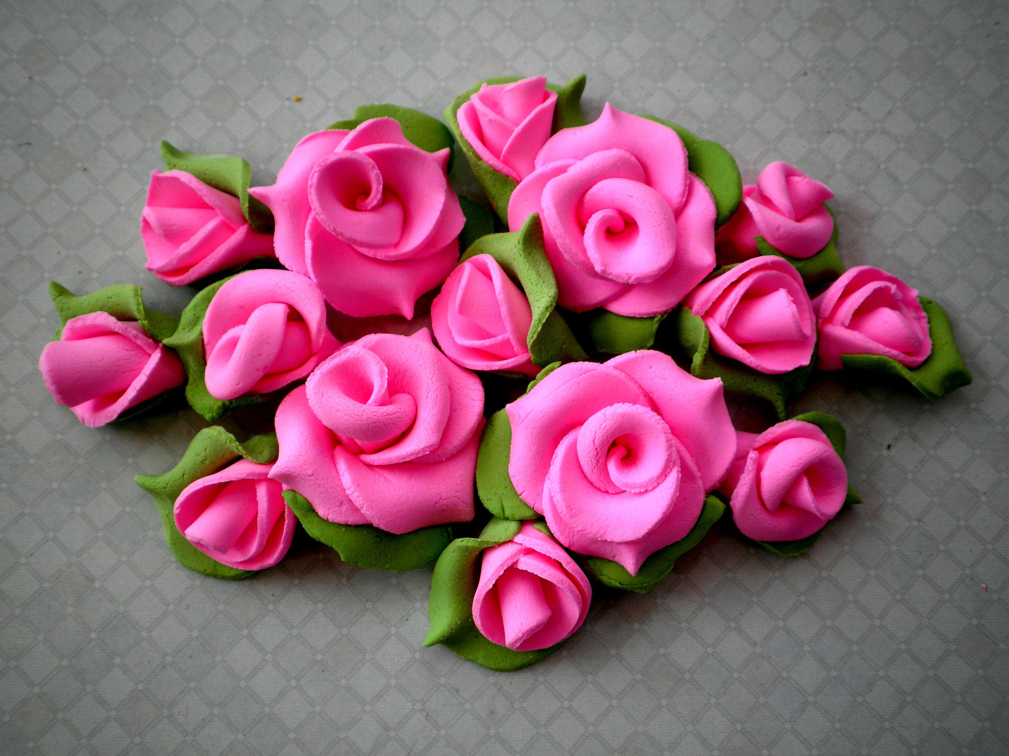 Цветы из мастики своими руками пошагово для начинающих