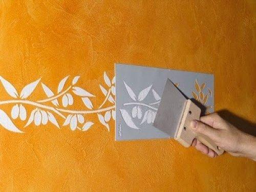 Трафареты для декора стен своими руками: скачать и распечатать шаблоны с фото