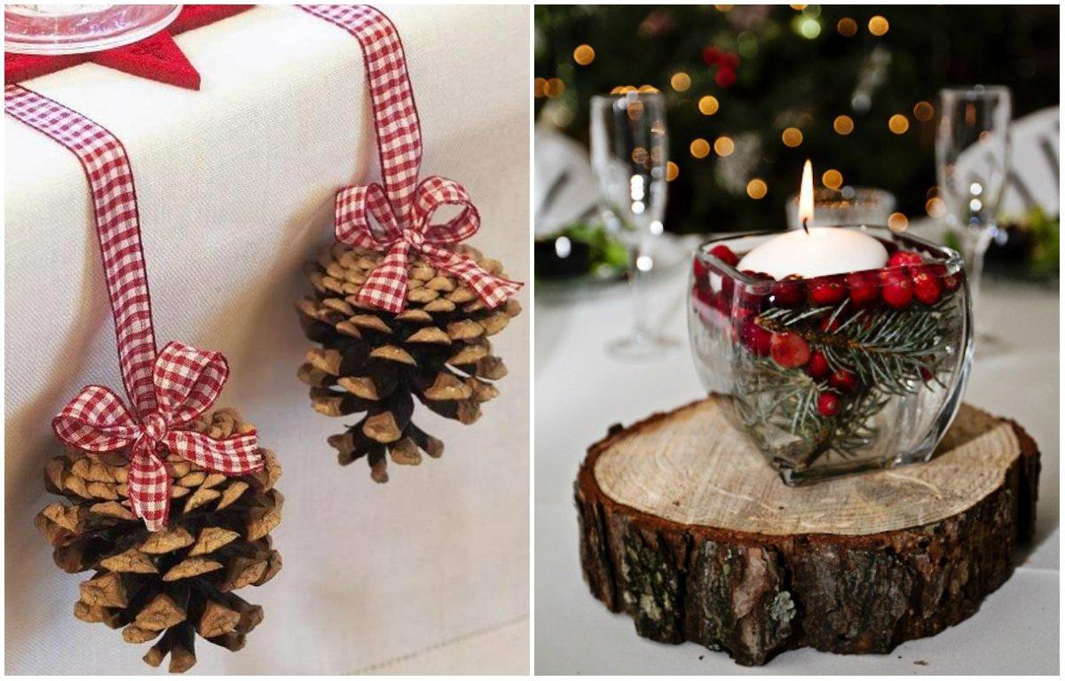 Идеи новогоднего декора своими руками