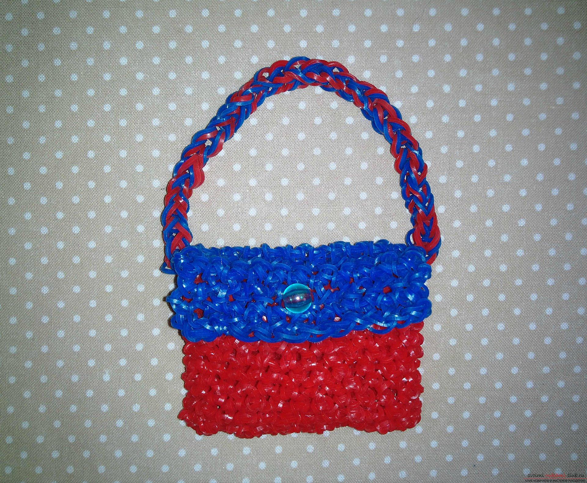 Плетение из резиночек для кукол монстер хай