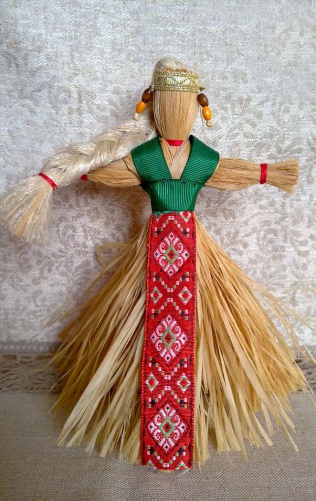 Старинная кукла своими руками мастер класс