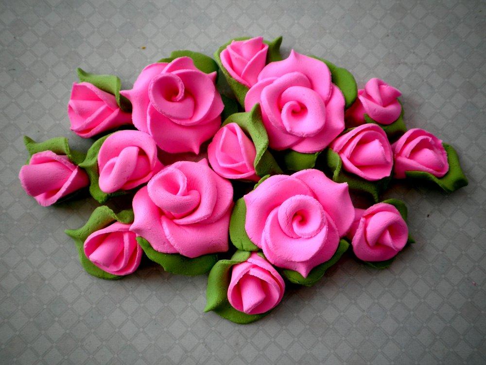 Цветы из мастики своими руками пошагово