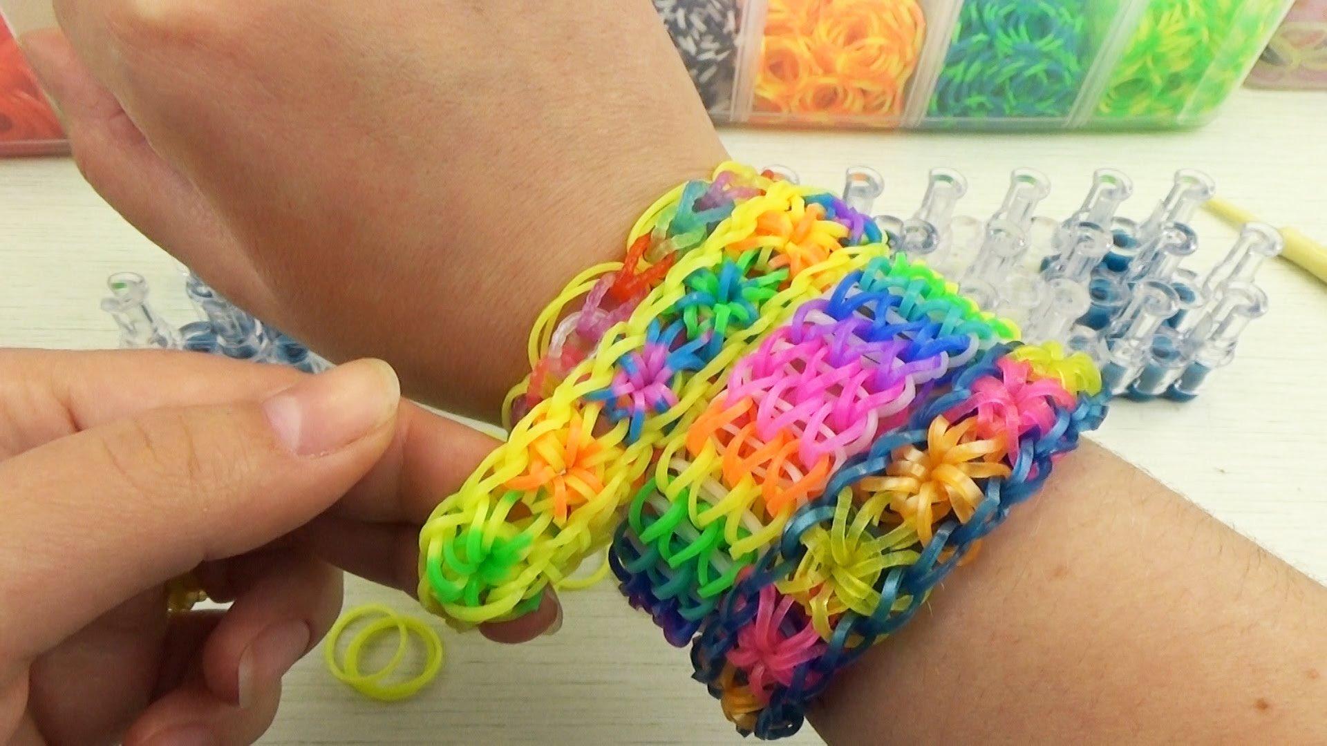 Как плести красиво браслеты из резинок