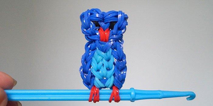Плетение фигурок из резинок мороженое