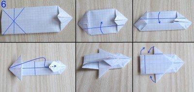 Сделать оригами танков из бумаги 136