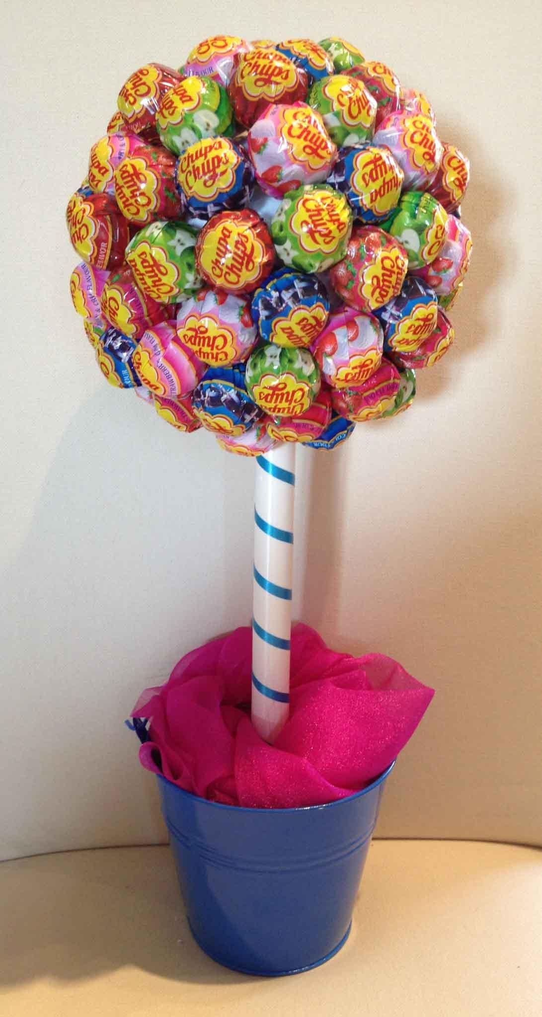Дерево счастья своими руками из конфет мастер класс 7