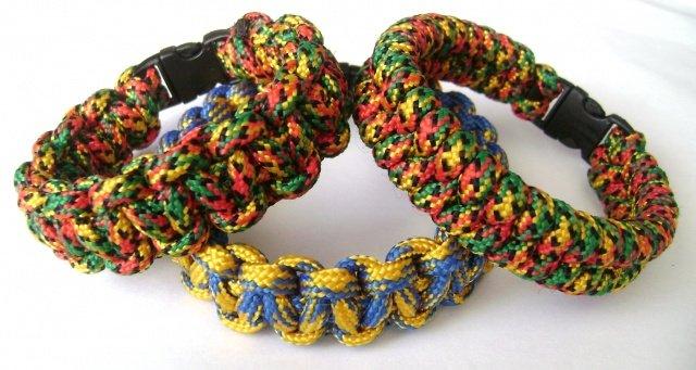Схема плетения браслета змейка из паракорда
