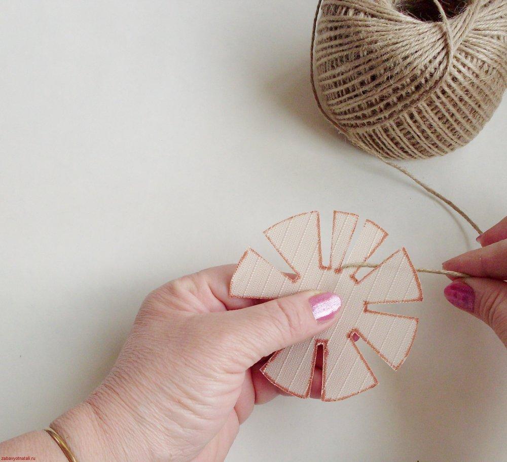 Плетение из шпагата для начинающих