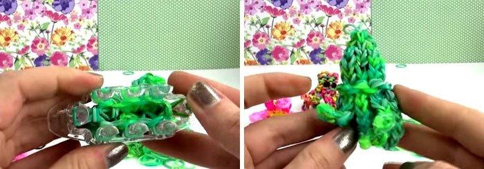 Как сплести из резинок осьминога: видео как сделать фигурку на рогатке и на станке