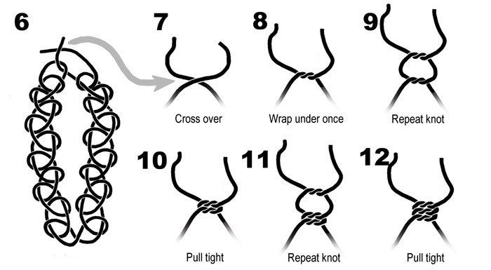 Как сделать чокер на шею своими руками из лески