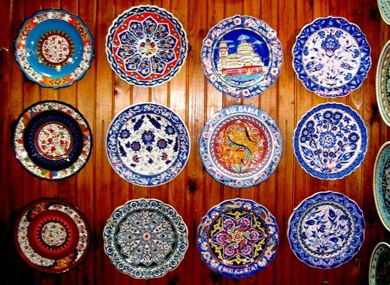 Роспись по тарелкам своими руками