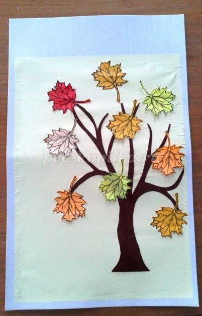 Аппликация на тему осень из цветной бумаги в детском саду: шаблоны своими руками и фото изготовления