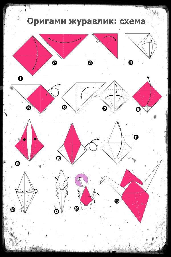 Из бумаги сделать оригами