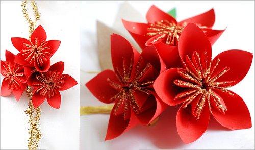 Поделки из бумаги: цветы своими руками с фото и видео-подборкой