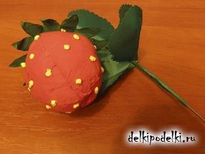 Поделки ягод из бумаги 47