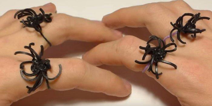Как сделать из резинок паук 677