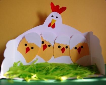 Аппликация к пасхе: изготовление в детском саду и в начальной школе