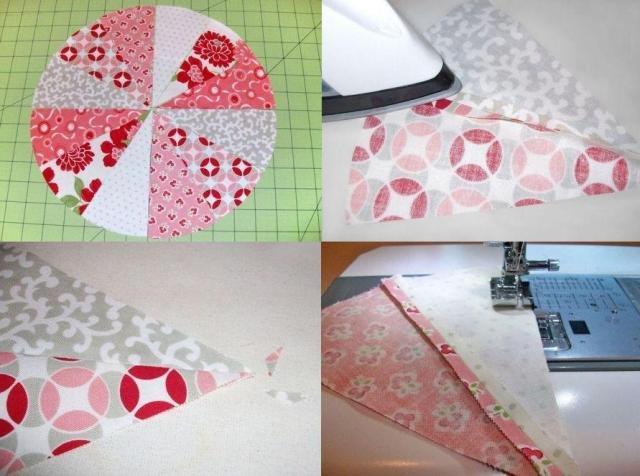 Поделки из лоскутков ткани своими руками: делаем одеяло из кусочков ткани для кухни