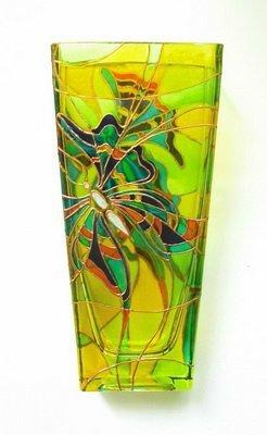 Витраж: цветы с фото и простые эскизы на стекле