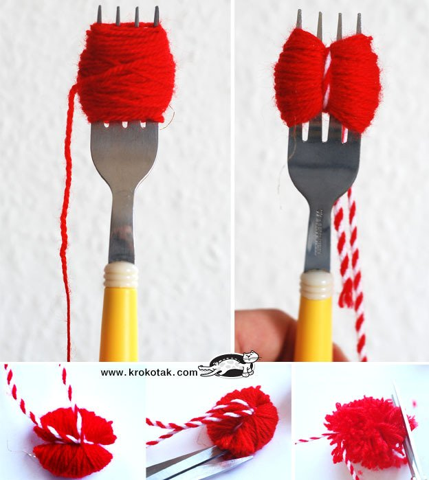 Как украсить вязаную шапку своими руками: варианты с бисером, со стразами и мехом