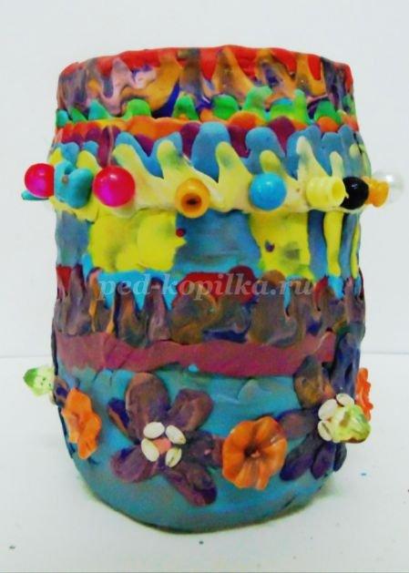 Как сделать вазу из пластилина: делаем поэтапно своими руками