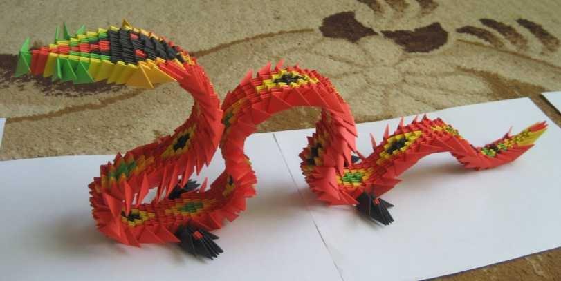 Модуль для китайского оригами