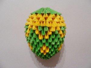 Павлин из модулей оригами: мастер класс по изготовлению поделки с видео