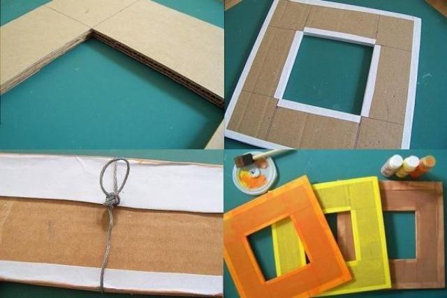 Как сделать рамки для в домашних условиях