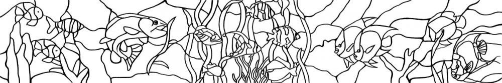 Как нарисовать витраж: делаем поэтапно красками