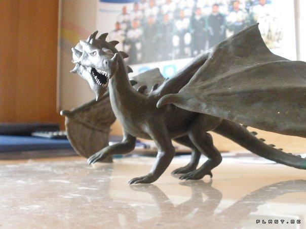 Как сделать дракона своими руками видео