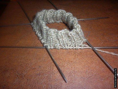 Ажурный узор для шапки схема