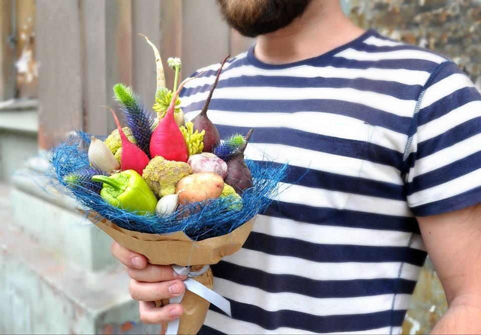 Мастер-класс по букету из овощей своими руками: делаем пошагово с фото