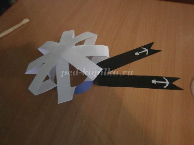 Как сделать бескозырку из бумаги (с фото и видео): мастер класс и выкройка