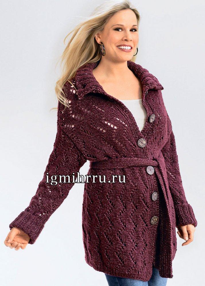 Схема ажурного вязания спицами для женщин АЖУР. - Pinterest 60