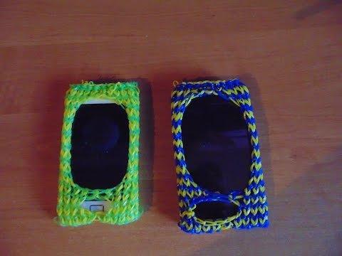 бампер на телефон своими руками делаем на смартфон из резиночек